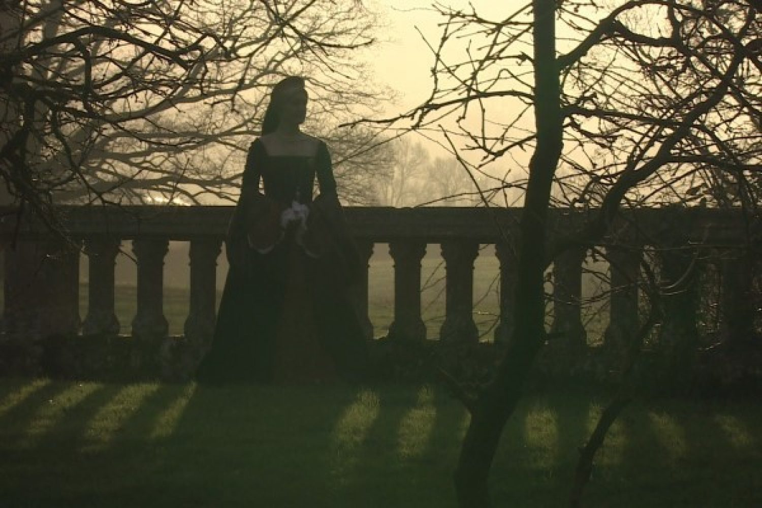 An image depicting the ghost of Katherine Parr