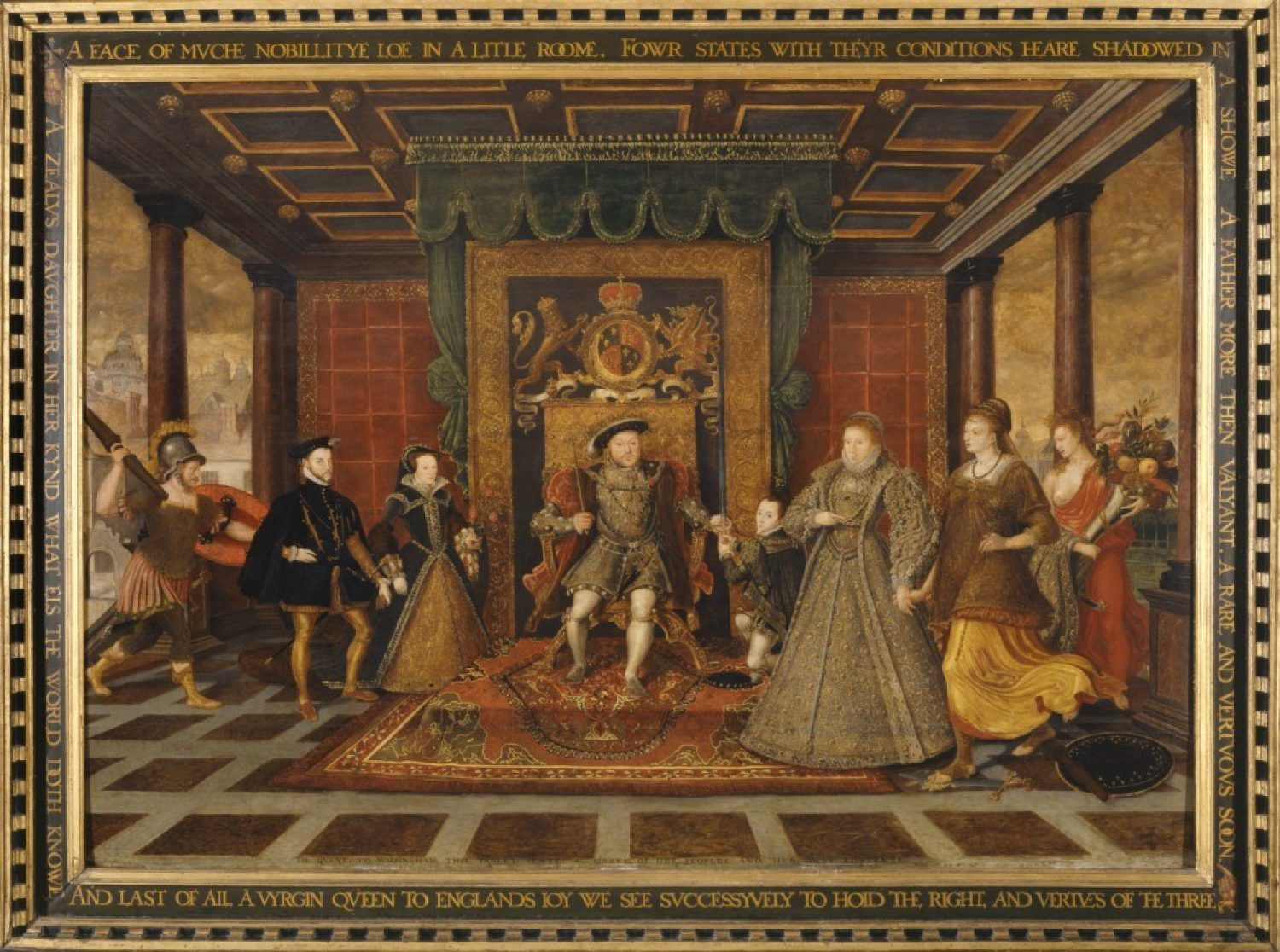 An Allegory of the Tudor Succession