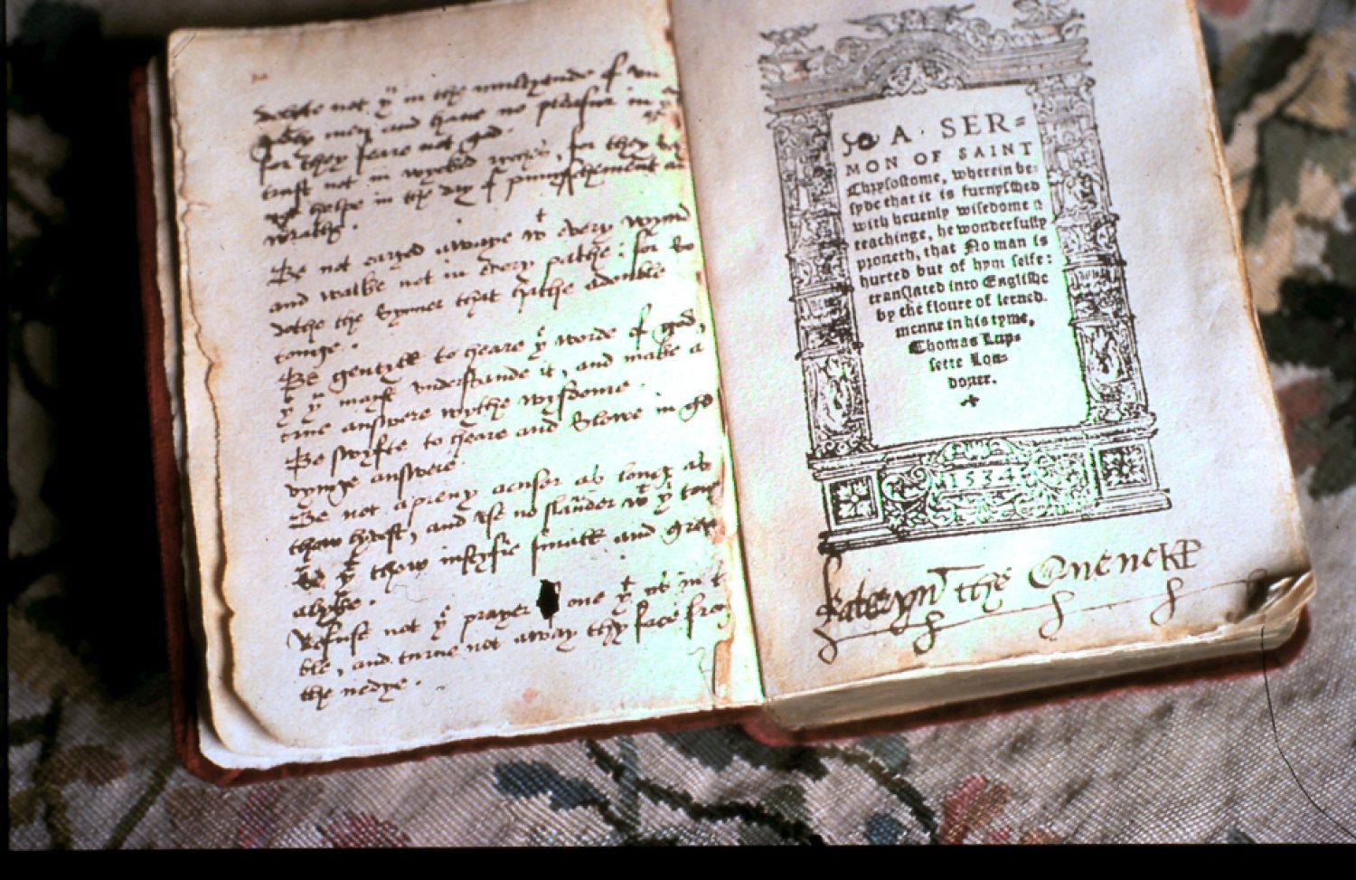 Photo of a book written by Katherine Parr