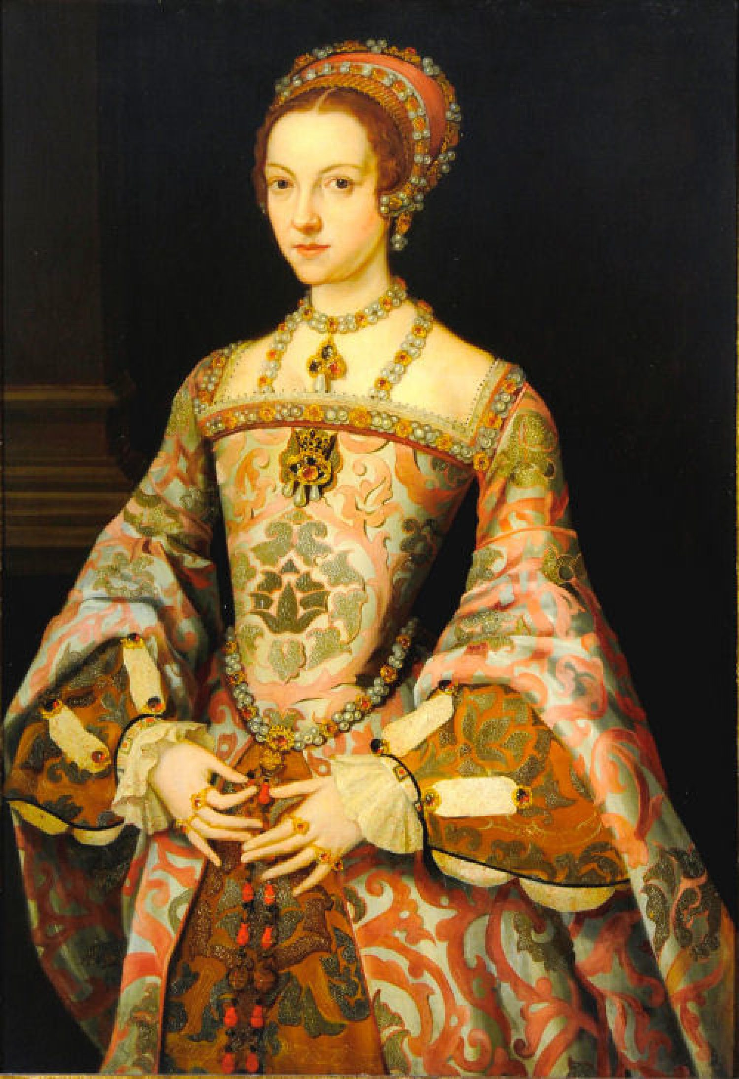 Full body portrait of Katherine Parr