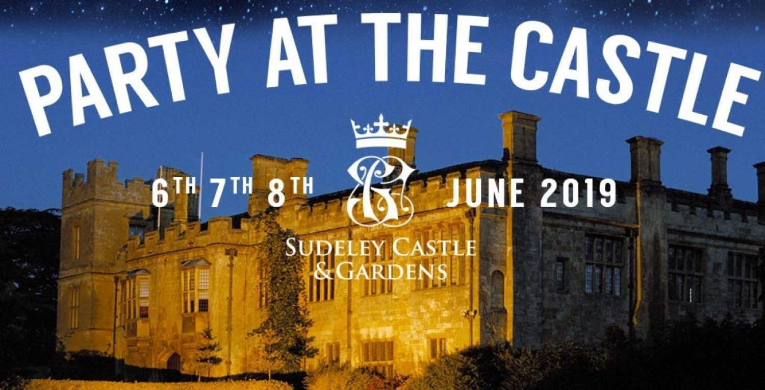 Advert for Party at the Castle event. 6th, 7th and 8th of June 2019