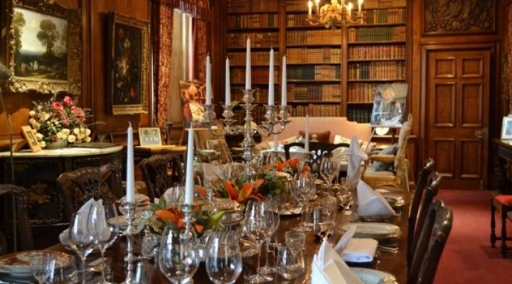 Image for A celebration of the great British dinner party at Sudeley Castle