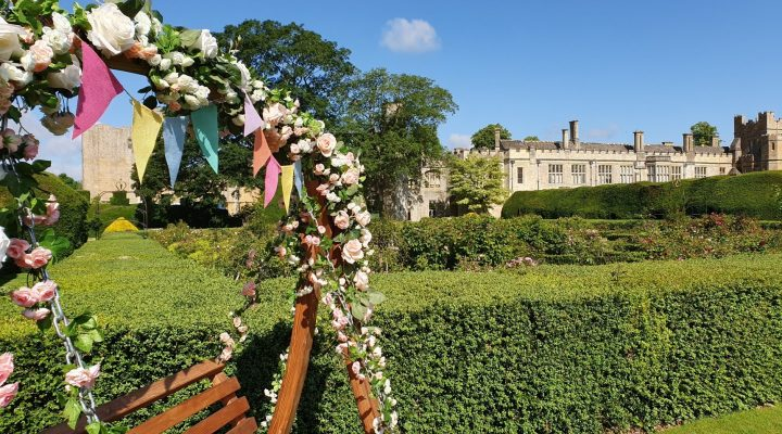 Image for Pause for a moment on the Sudeley Seat