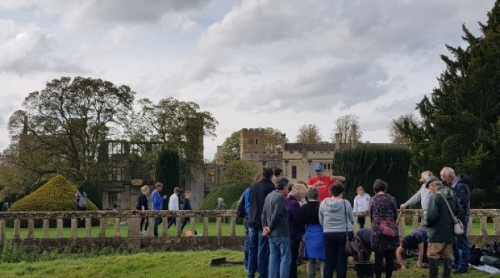 Image for Tudor Garden uncovered at Sudeley Castle