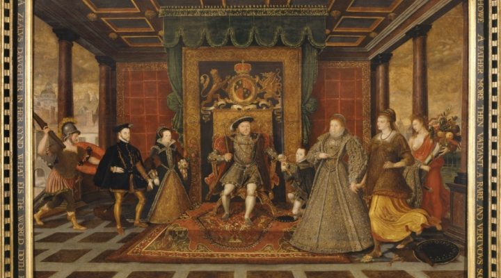 Image for Allegory of the Tudor Succession