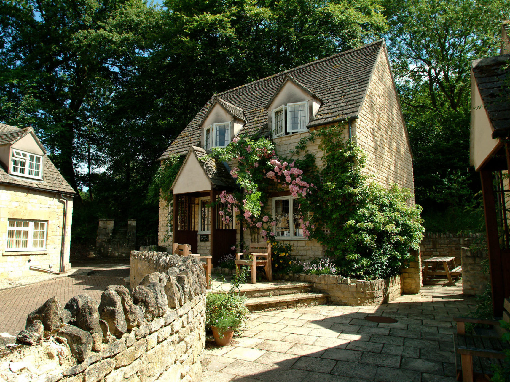 Emma Dent Cottage exterior shot