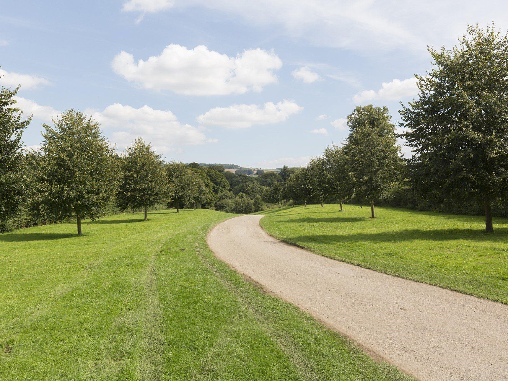 Sudeley Castle driveway