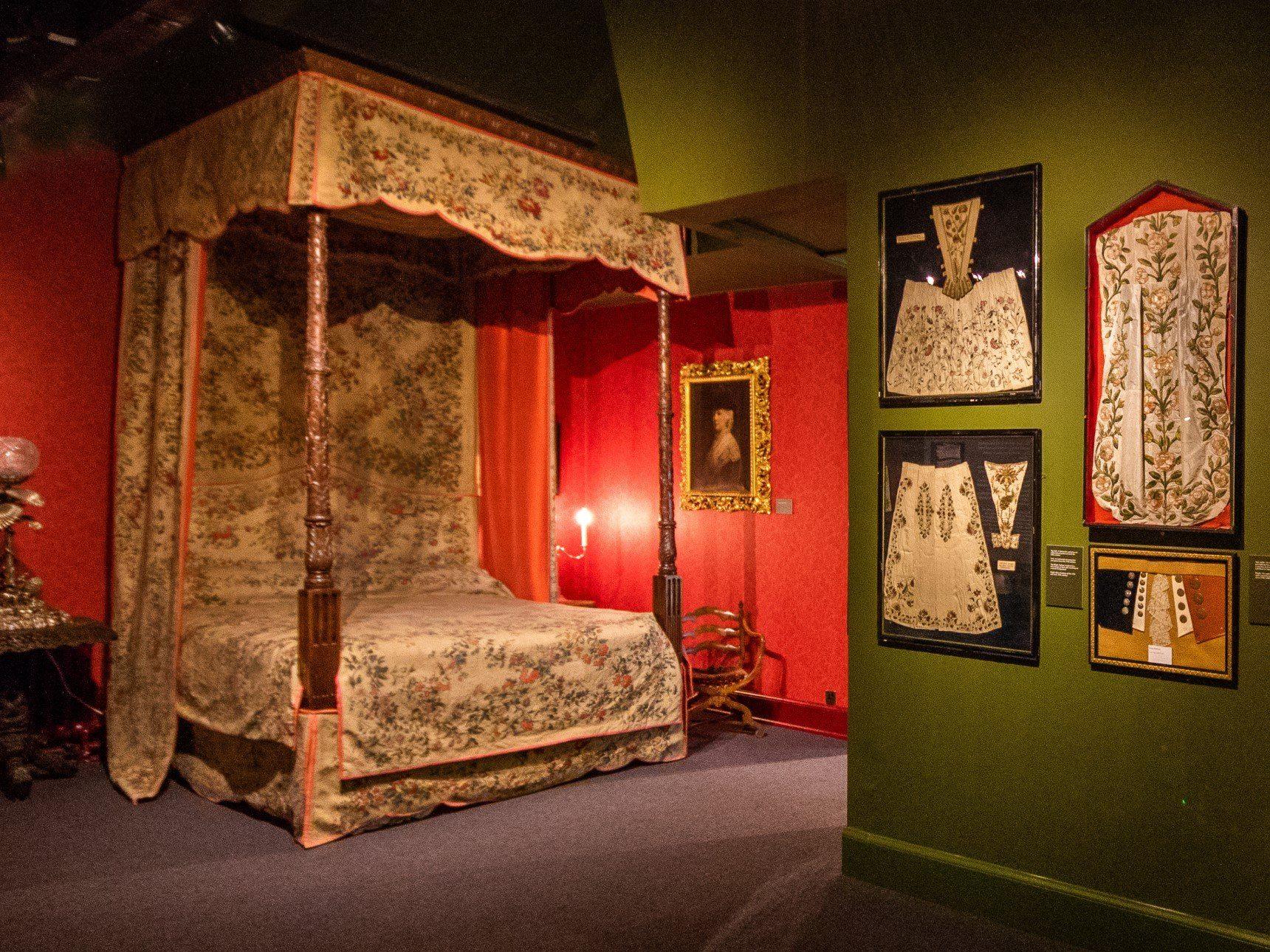 Emma Dent Textiles Room