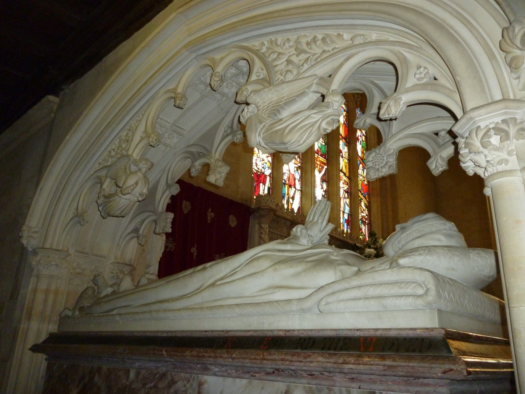 Tomb of Katherine Parr at Sudeley Castle