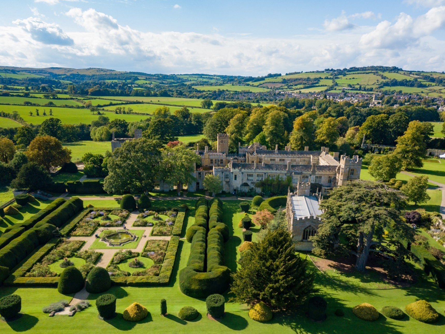 Sudeley Castle Aerial View