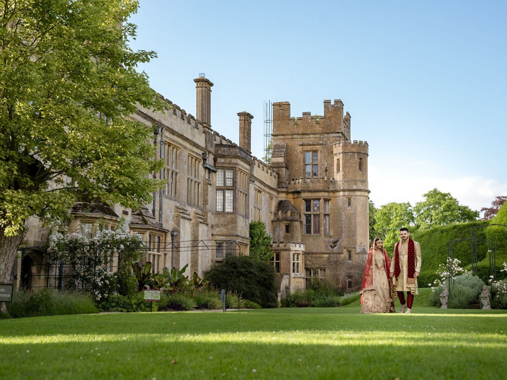 Asian Weddings at Sudeley