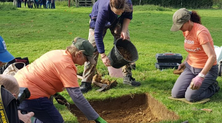 Tudor Garden Archaeological Dig with DigVentures