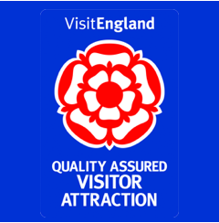 Visit England. Quality assured visitor attraction.